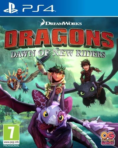 Dragons Dawn of New Riders PS4 1