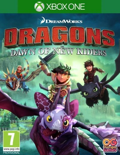 Dragons Dawn of New Riders Xbox One 1