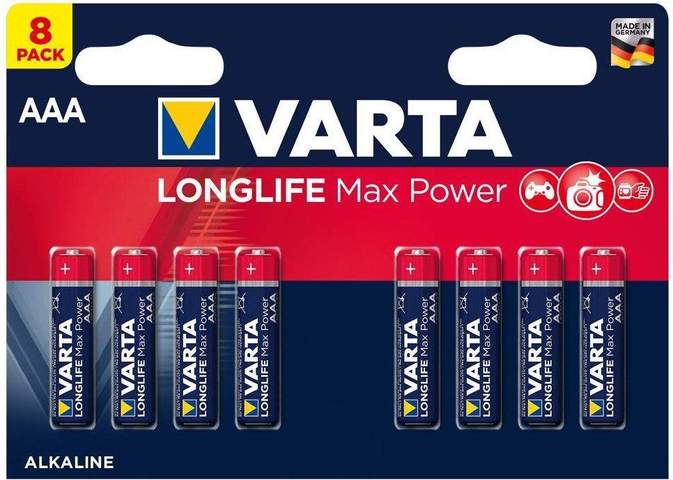 Varta Bateria Longlife Max Power AAA / R03 8szt. 1