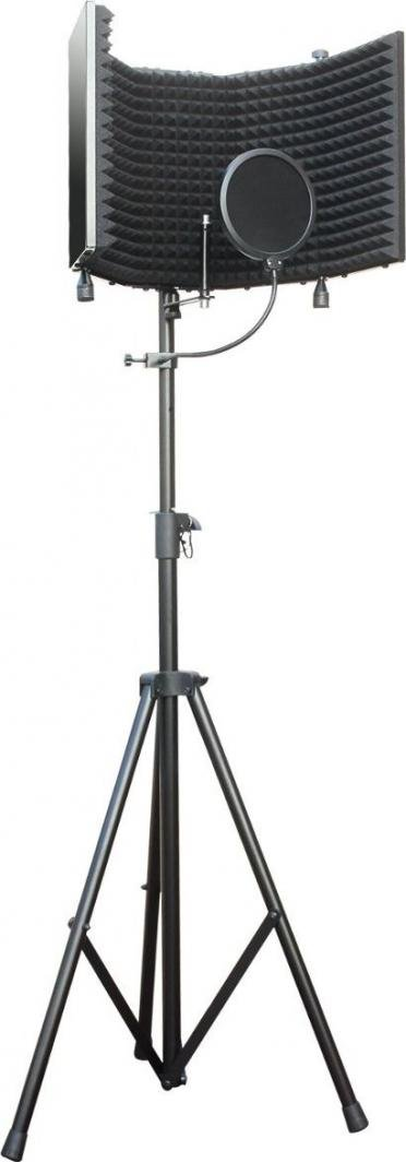 Mozos 2 w 1: Stojak mikrofonowy do kabiny akustycznej / Uchwyt do głośników kolumn estradowych (MSHIELD-STAND) 1