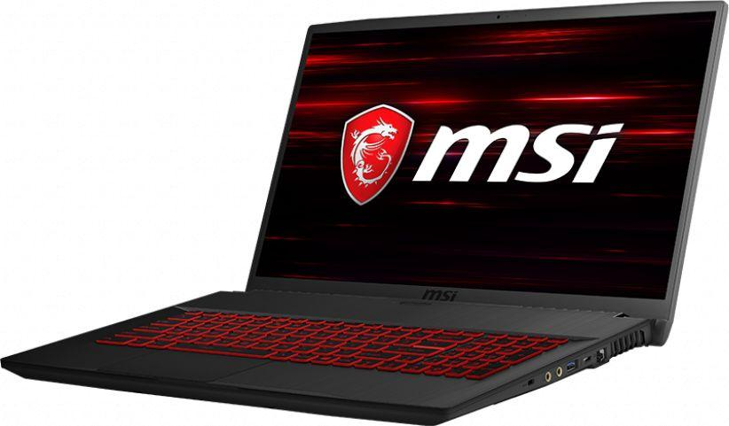 Laptop MSI GF75 Thin 8RC-055XPL 8 GB RAM/ 240 GB M.2 PCIe/ 512 GB SSD/ 1