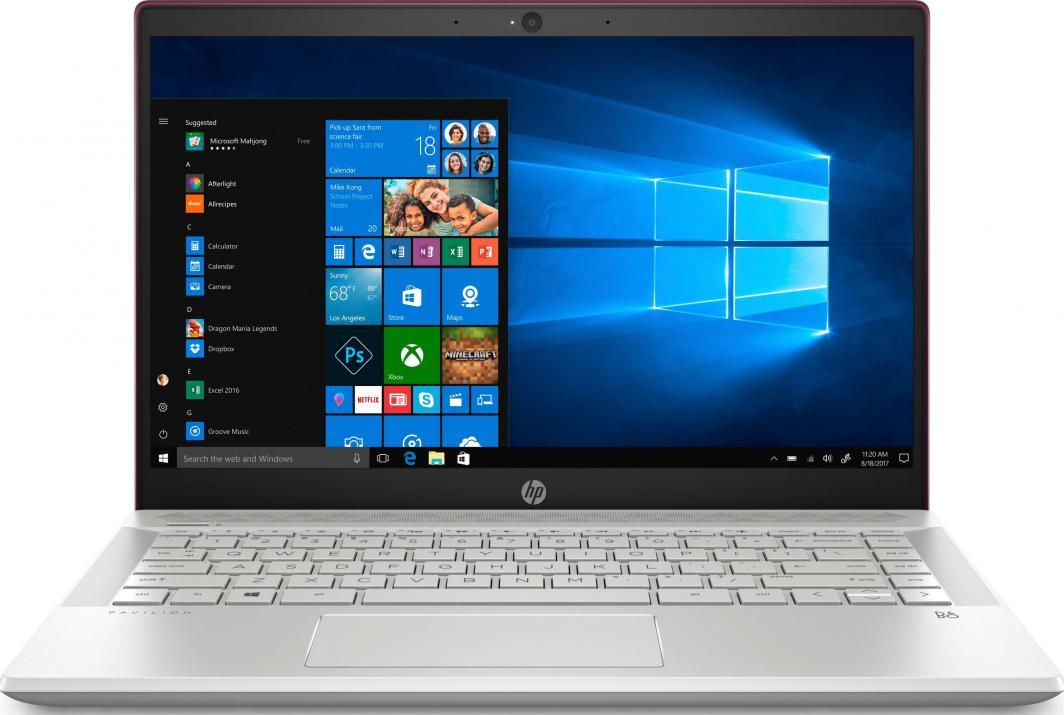 Laptop HP Pavilon 14-ce1007nw (6AX09EA) 16 GB RAM/ 480 GB M.2 PCIe/ Windows 10 Home PL 1