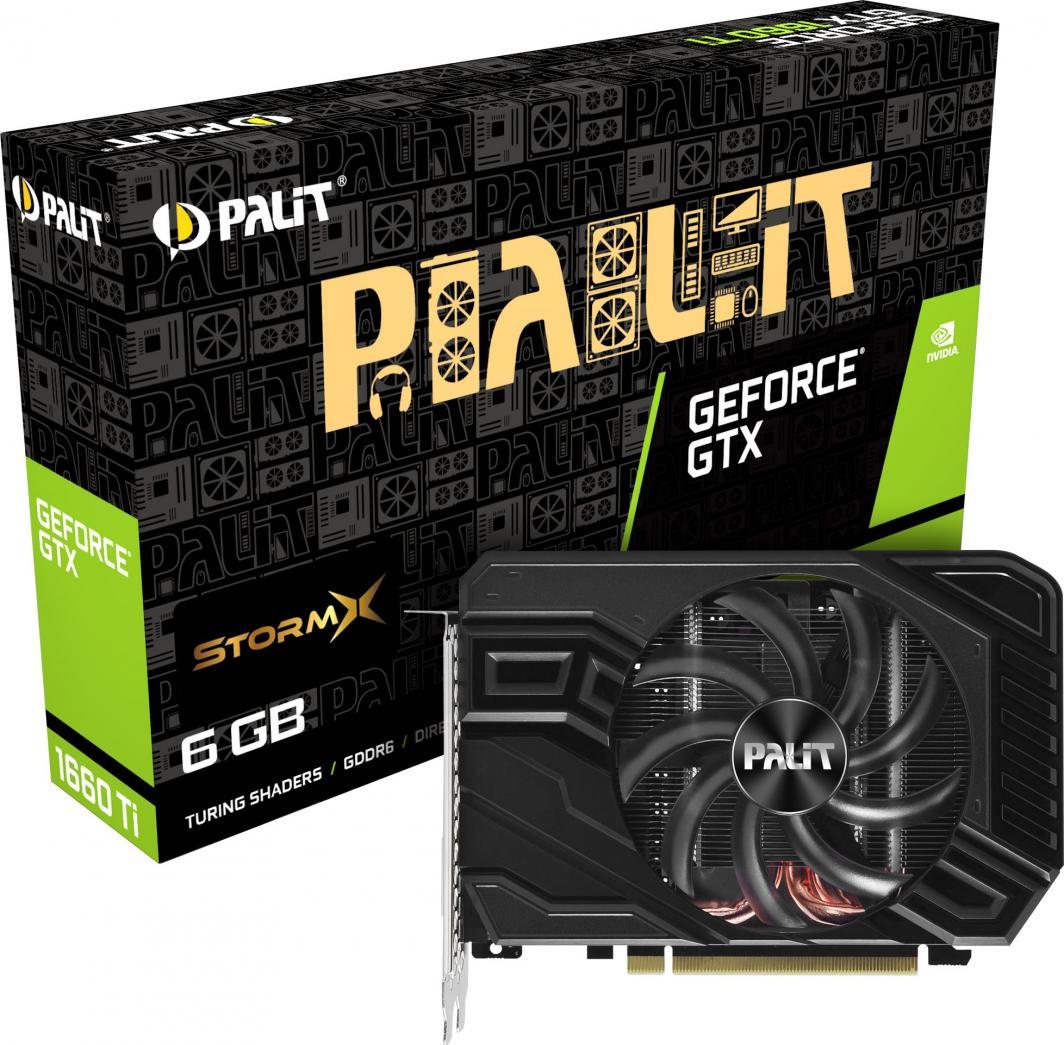 Karta graficzna Palit GeForce GTX 1660Ti StormX 6GB GDDR6 (NE6166T018J9-161F) 1