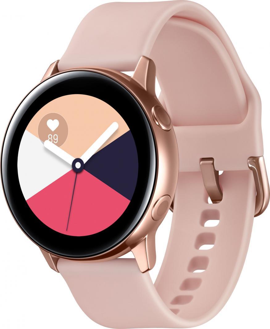 Smartwatch Samsung Galaxy Watch Active Gold Różowe złoto  (SM-R500NZDAXEO) 1