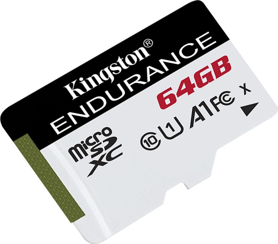 Karta Kingston Endurance MicroSDXC 64 GB Class 10 UHS-I/U1 A1  (SDCE/64GB) 1