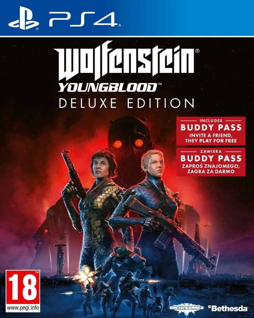 Wolfenstein Youngblood Deluxe Edition PS4 1