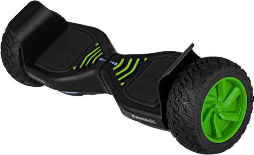 Deskorolka elektryczna Kawasaki KXCROSS8.5 czarno-zielona 1