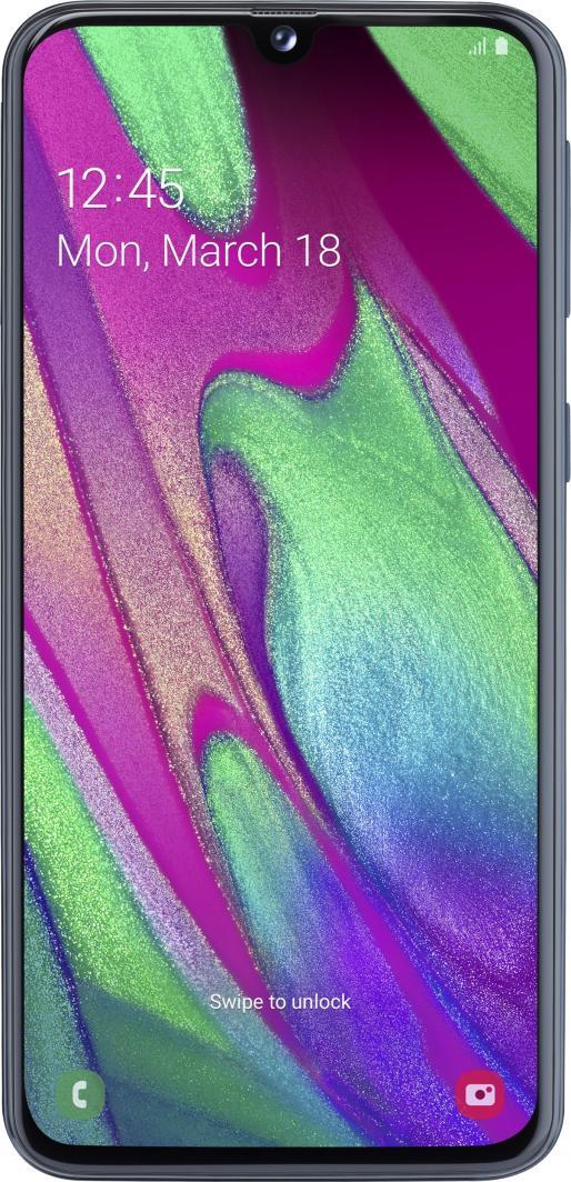 Smartfon Samsung Galaxy A40 4/64GB Dual SIM Czarny  (SM-A405FZK) 1