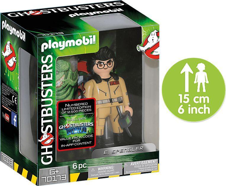 Playmobil Ghostbusters™ Egon Spengler (70173) 1