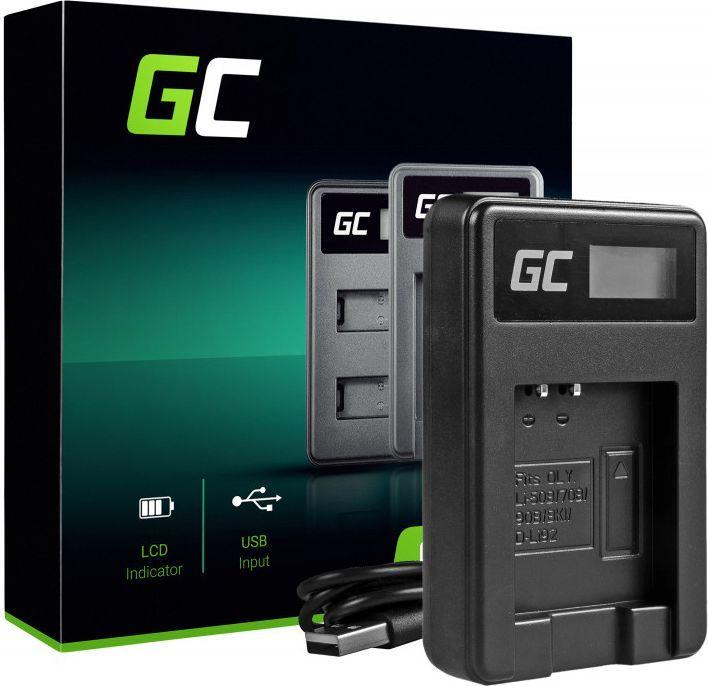 Ładowarka do aparatu Green Cell LI-50C do Olympus LI-50B, SZ-15, SZ-16, Tough 6000, 8000, TG-820, TG-830, TG-850, VR-370, XZ-1, XZ-10 (ADCB16) 1