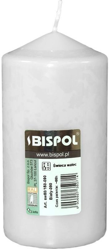 Art-Pol Świeca Pieńkowa 150/80 090 Biały (102032) 1