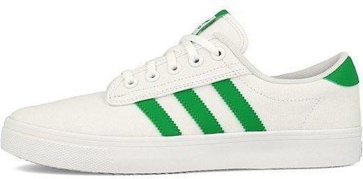 buty adidas bialo zielone