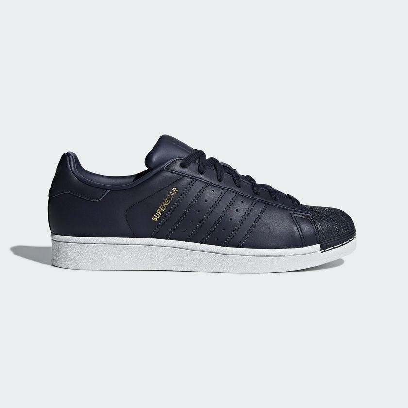 Adidas Buty męskie Superstar granatowe r. 40 23 (CM8072) ID produktu: 4147393