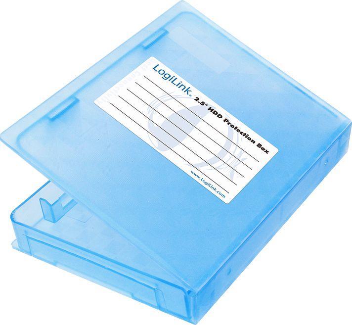 """LogiLink Pudełko ochronne do HDD 2.5"""" niebieskie UA0131 1"""