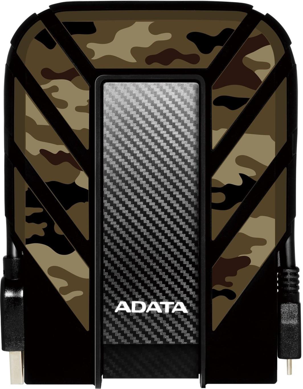 Dysk zewnętrzny ADATA HDD DashDrive Durable HD710M Pro 1 TB Czarny (AHD710MP-1TU31-CCF) 1