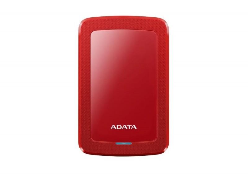 Dysk zewnętrzny ADATA HDD Classic HV300 1 TB Czerwony (AHV300-1TU31-CRD) 1