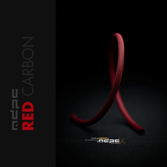 MDPC-X Sleeve Medium - Red Carbon, 1m - SL-M-IRB 1
