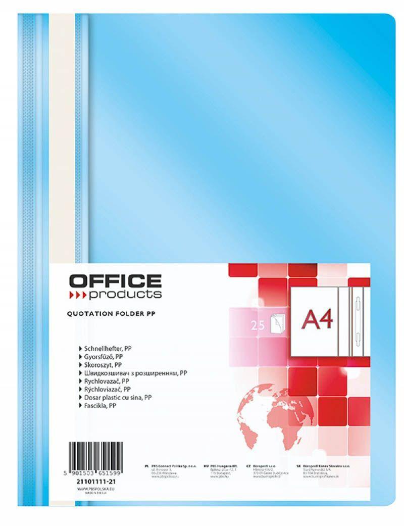 Office Products A4, jasnoniebieski (21101111-21) 1