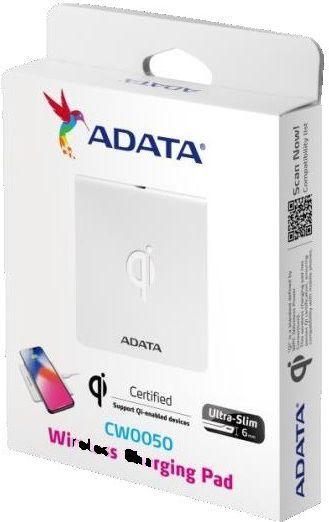 Ładowarka ADATA CW0050 biała (ACW0050-1C-5V-CWH) 1
