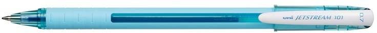 Uni Mitsubishi Pencil Długopis w jasnoniebieskiej obudowie SX-101 niebieski (UNSX101FL/DJNI) 1
