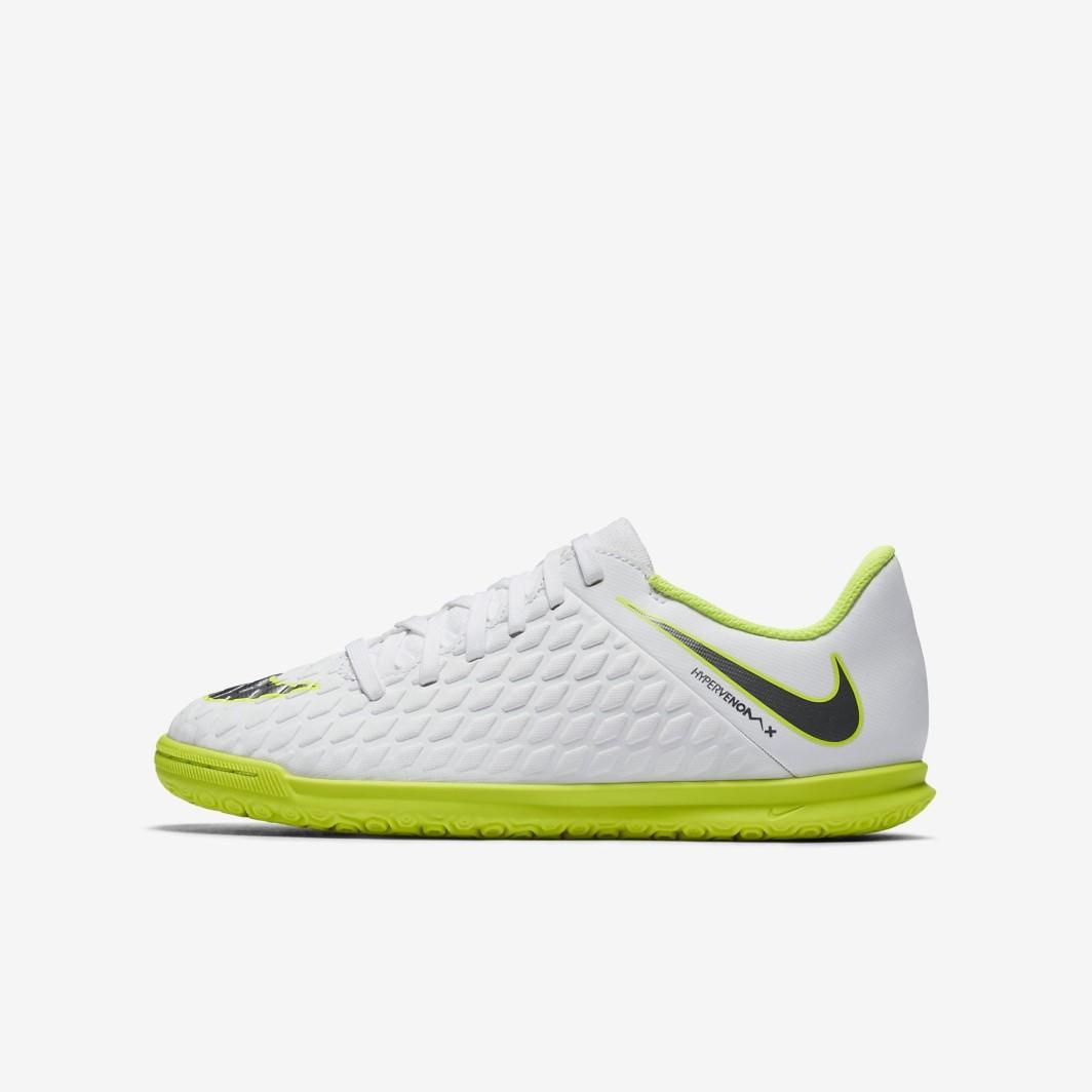 1f76ca44 Nike Buty piłkarskie JR Hypervenom PhantomX 3 Club IC białe r. 34 (AJ3789  107) w Sklep-presto.pl