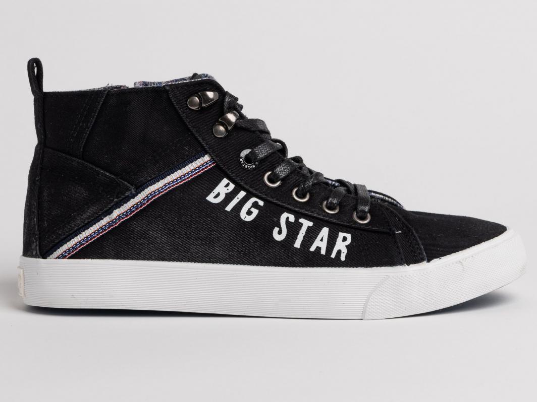 a7b3c240fea16 Big Star Buty męskie KIN-HS0016 czarne r. 45 w Sklep-presto.pl