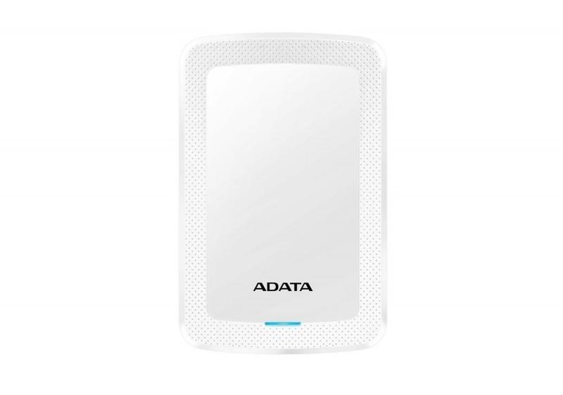 Dysk zewnętrzny ADATA HDD Classic HV300 1 TB Biały (AHV300-1TU31-CWH) 1