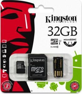 Karta Kingston MicroSD 32 GB Class 10  (MBLY10G232GB) 1