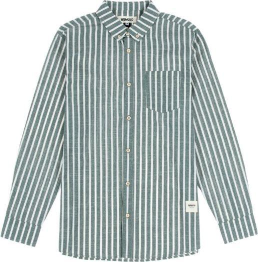 Wemoto Koszula męska Manison Olive szara r. L (321-5) 1