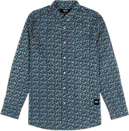 Wemoto Koszula męska Opae Blue niebieska r. L (320-5) 1