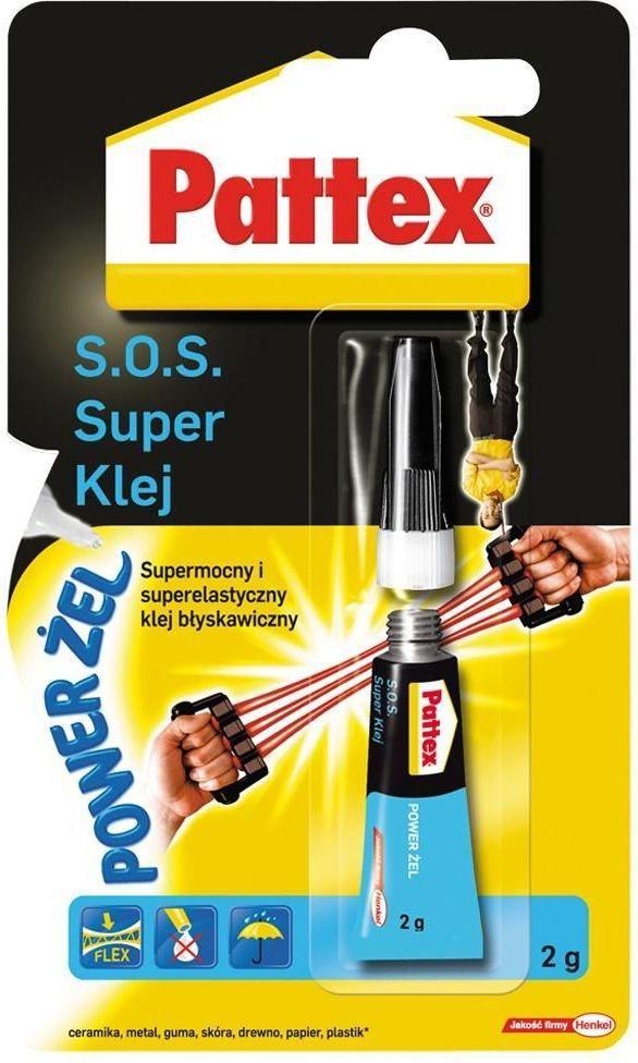Henkel Pattex S.O.S. Super Klej Power Żel 2g - 1471937 1