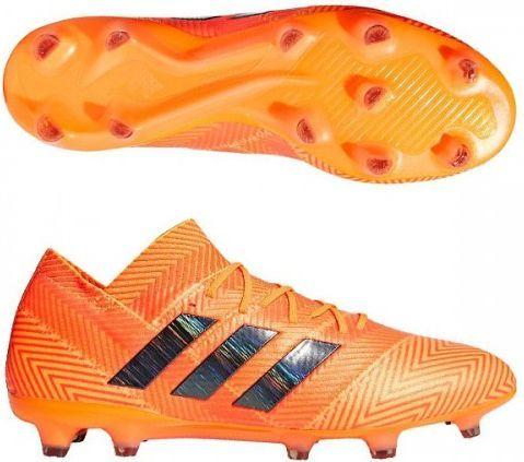 super popular 01f3e a76b8 Adidas Buty piłkarskie Nemeziz 18.1 FG pomarańczowe r. 43 13 (DA9588)