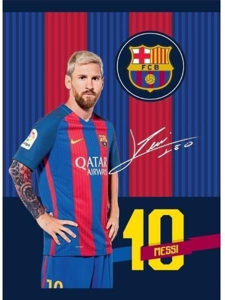 Astra Zeszyt A5/32 kratka FC Barcelona 10szt. 1