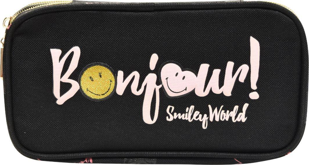 Piórnik Eurocom owalny kompaktowy Smiley Paris (284784) 1