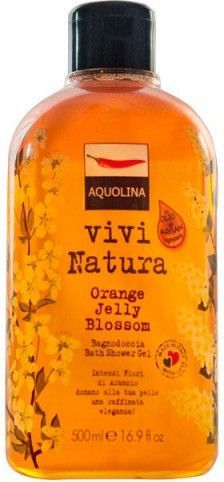 Aquolina Vivi Natura Płyn do kąpieli i pod prysznic Orange Jelly Blossom 500ml 1