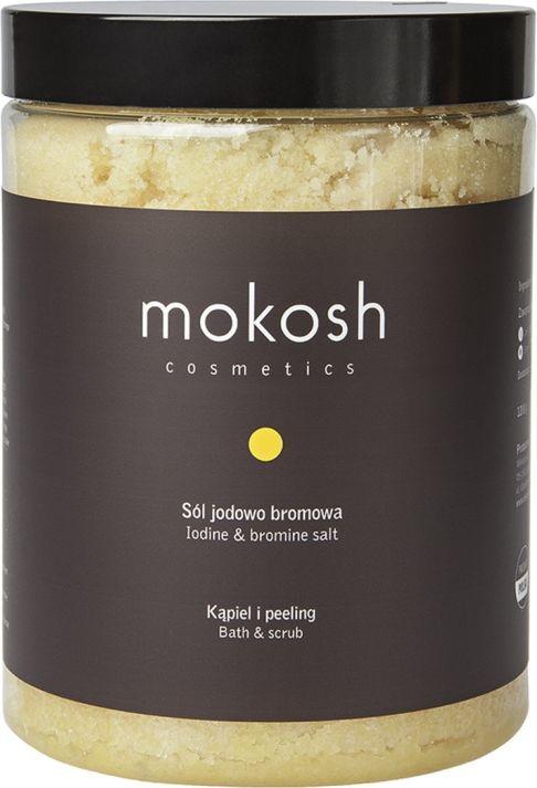 Mokosh Sól jodowo-bromowa do kąpieli 1200 g 1