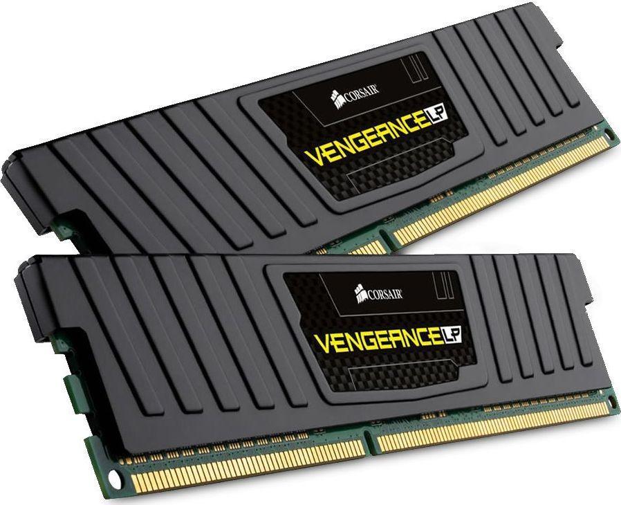 Pamięć Corsair Vengeance LP, DDR3, 4 GB, 1600MHz, CL9 (CML4GX3M1A1600C9) 1