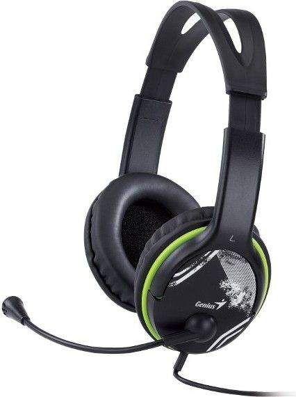 Słuchawki z mikrofonem Genius HS-400A (31710169100) 1