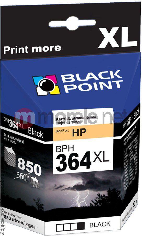 Black Point tusz BPH364XLPBK (CB322EE nr 364XL) Photo Black 1