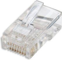 Intellinet Network Solutions Wtyk RJ45 Cat5e UTP 3-zą…bkowy na drut sł'oik 100szt (502399) 1