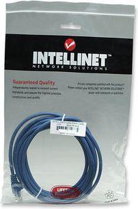 Intellinet Network Solutions Patch kabel Cat6 UTP 0,5m niebieski (342568) 1