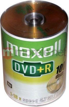 Maxell DVD+R 4.7 GB 16x 100 sztuk (275737.30.TW) 1