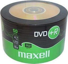 Maxell DVD+R 4.7 GB 16x 50 sztuk (2757.36.30.TW) 1