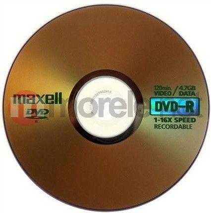 Maxell DVD-R 4.7 GB 16x 100 sztuk (275733.30.TW) 1