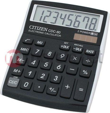 Kalkulator Citizen CDC-80BK 1