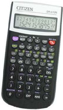 Kalkulator Citizen SR-270N 1