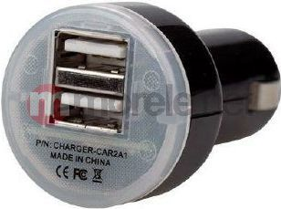 Ładowarka Dicota CarCharger 2.1A USB iPad ready ( CHARGER-CAR2A1 ) 1
