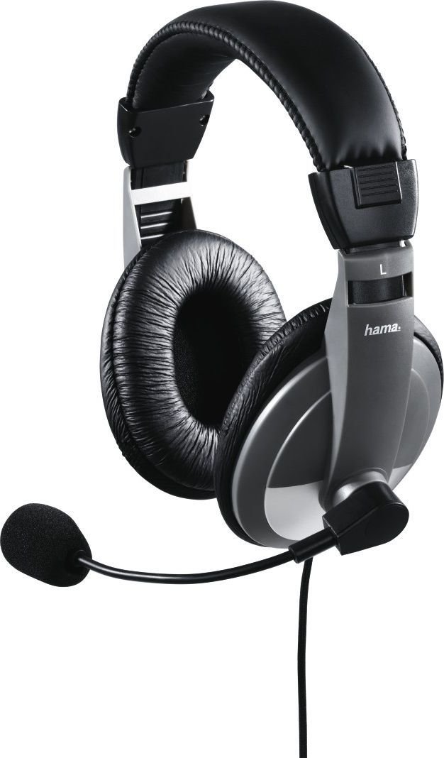 Słuchawki z mikrofonem Hama AH-100 ( 11592 ) 1