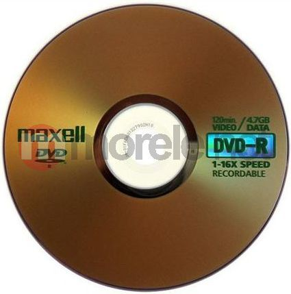 Maxell DVD-R 4.7 GB 16x 10 sztuk (275593.30.TW) 1