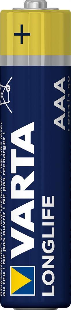 Varta Bateria LongLife Extra AAA / R03 4szt. 1